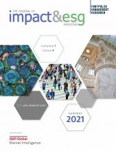 The Journal of Impact and ESG Investing: 1 (4)