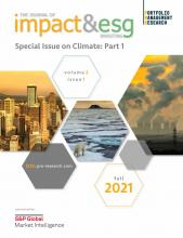 The Journal of Impact and ESG Investing: 2 (1)